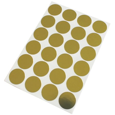 Sticker Dots in Gold colored  label 25mm - 360 pack by Royal Green - image 3 de 7