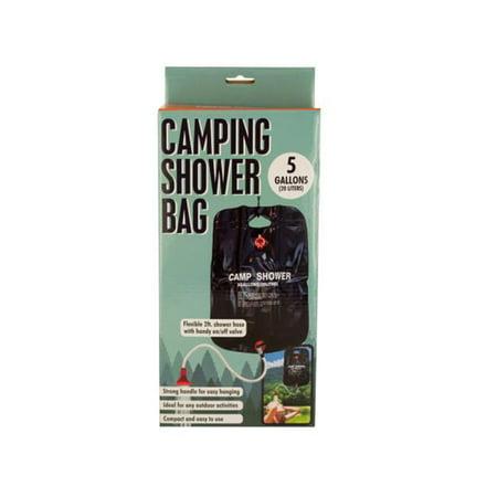 Bulk Buys OL036-4 Camping Shower Bag with Flexible Hose, 4 Piece - image 1 de 1