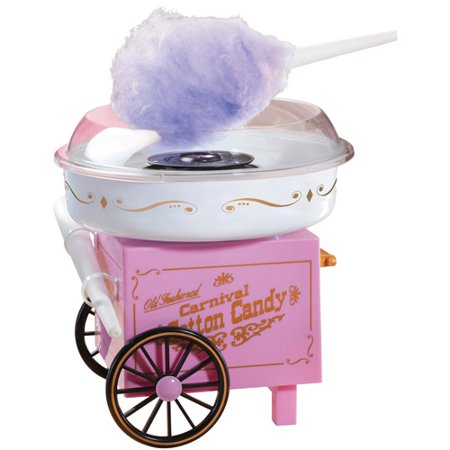 Nostalgia Electricstm Old Fashioned Cotton Candy Cart
