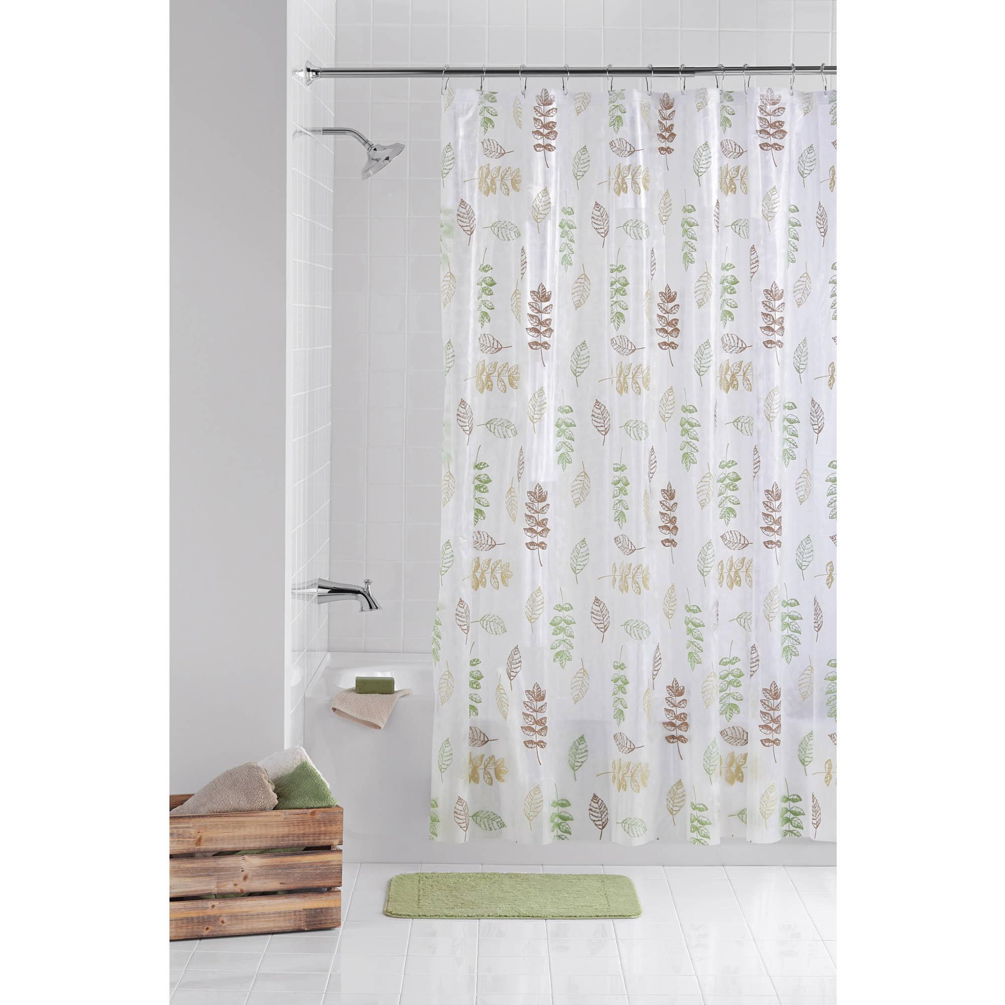 Sinatra silver shower curtain - Popular Bath Sinatra Silver Collection 70 X 72 Bathroom Shower Curtain Walmart Com