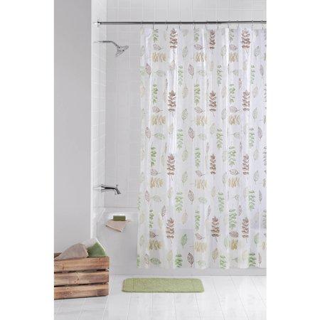 mainstays peva shower curtain 13 piece bathroom set - Bathroom Set Walmart