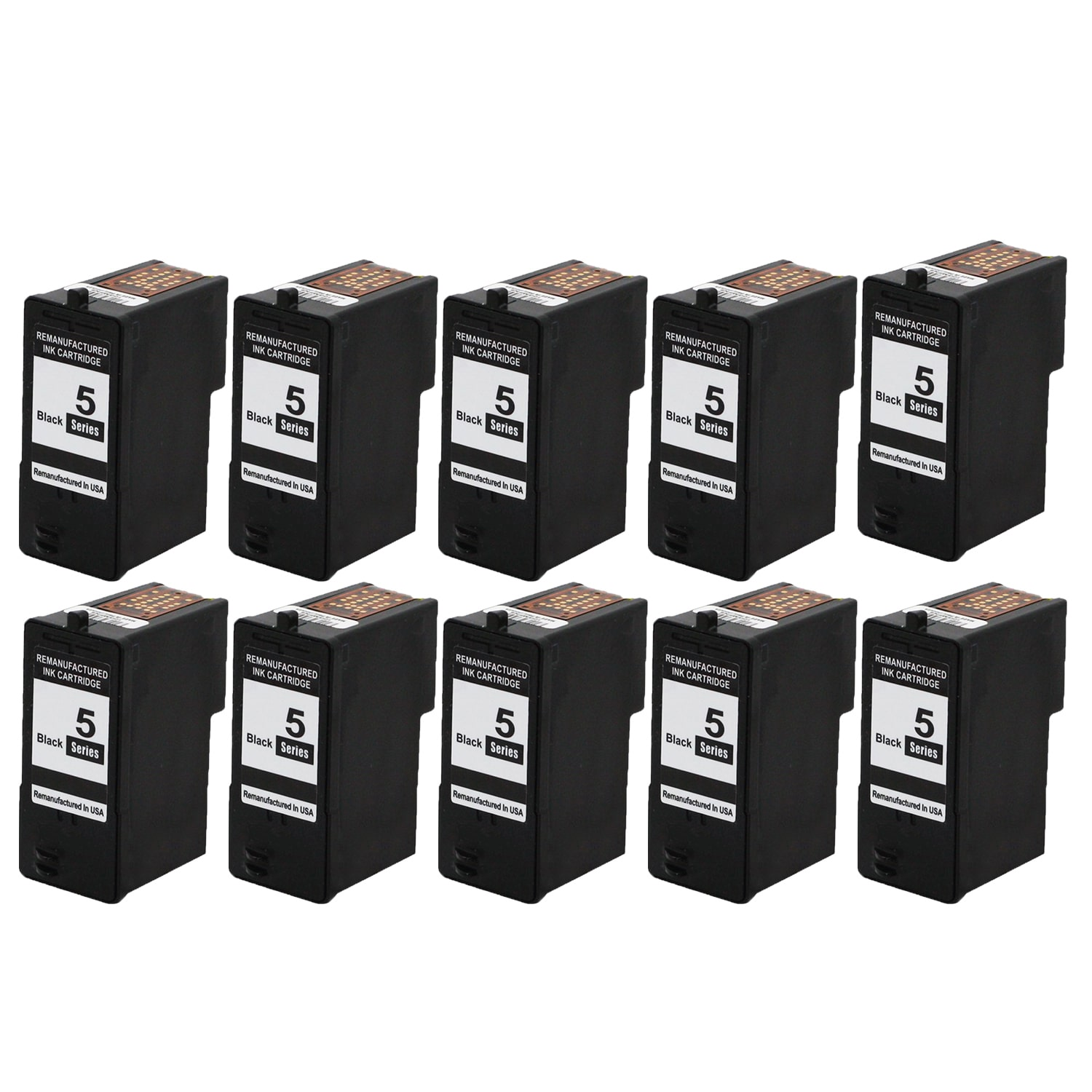 N Global CO. 10PK Dell M4640 Black Compatible Ink Cartrid...