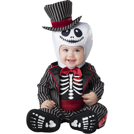 Lil Skeleton Baby Halloween (Lil' Frankie Infant & Toddler Costumes)