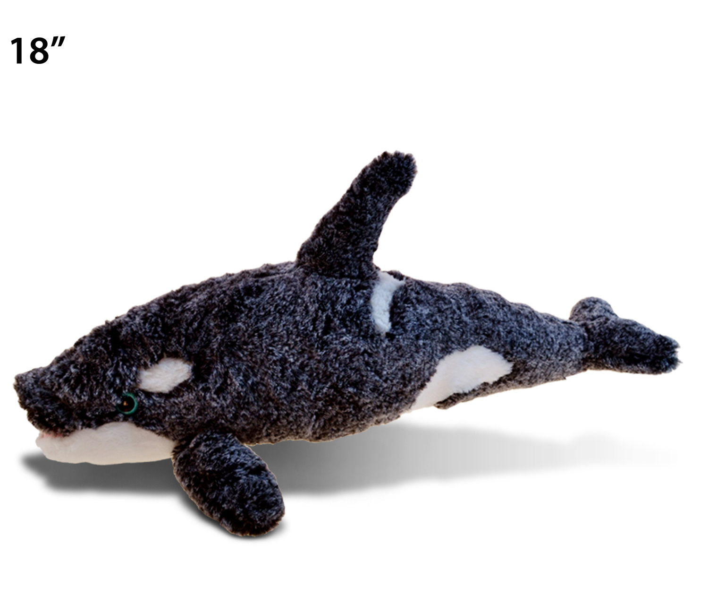 Cabin Critters Killer Whale 10 Stuffed Plush Animal Sea Life Collection