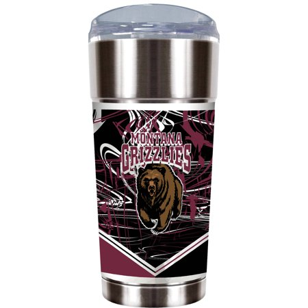 Ncaa Montana Grizzles  The Eagle  24 Oz Vacuum Insulated Stainless Steel Party Cup