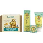 badger essential baby gift set