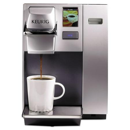 Keurig OfficePRO K155 Premier Brewing System, Single-Cup, Silver