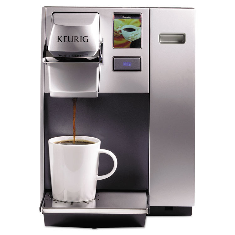 Keurig OfficePRO K155 Premier Brewing System, Single-Cup, Silver -GMT20155