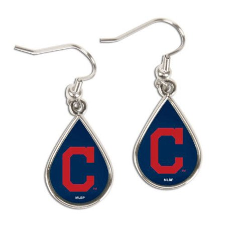 Cleveland Indians WinCraft Tear Drop Dangle Earrings - No Size ()