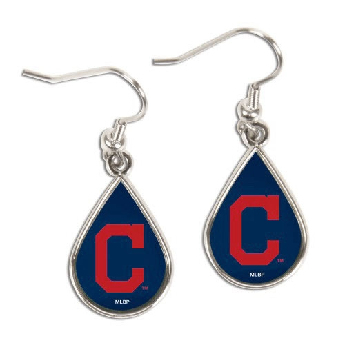 Cleveland Indians WinCraft Tear Drop Dangle Earrings - No Size