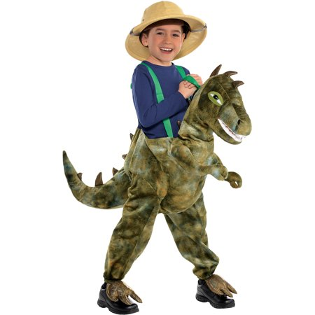 Male Halloween Costumes Do It Yourself (Dinosaur Ride-On Halloween Costume for Kids, Medium, with Attached)