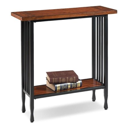 Bowery Hill Console Table in Burnished Oak