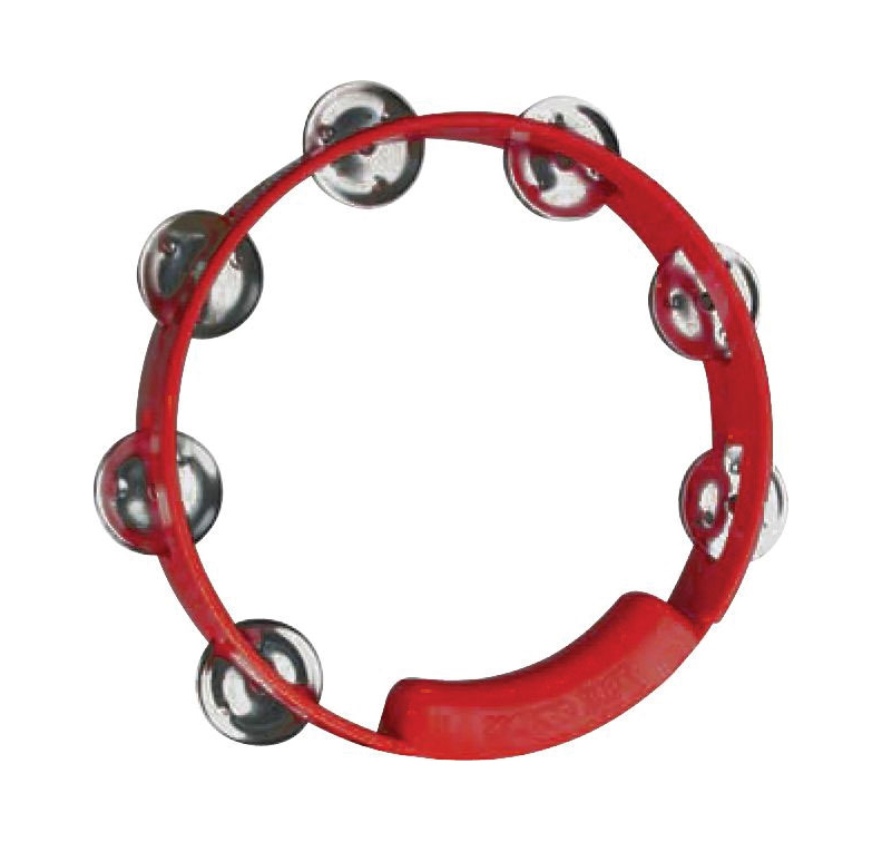 "Rhythm Tech TC4038 True Colors 8"" Tambourine Red by Rhythm Tech"