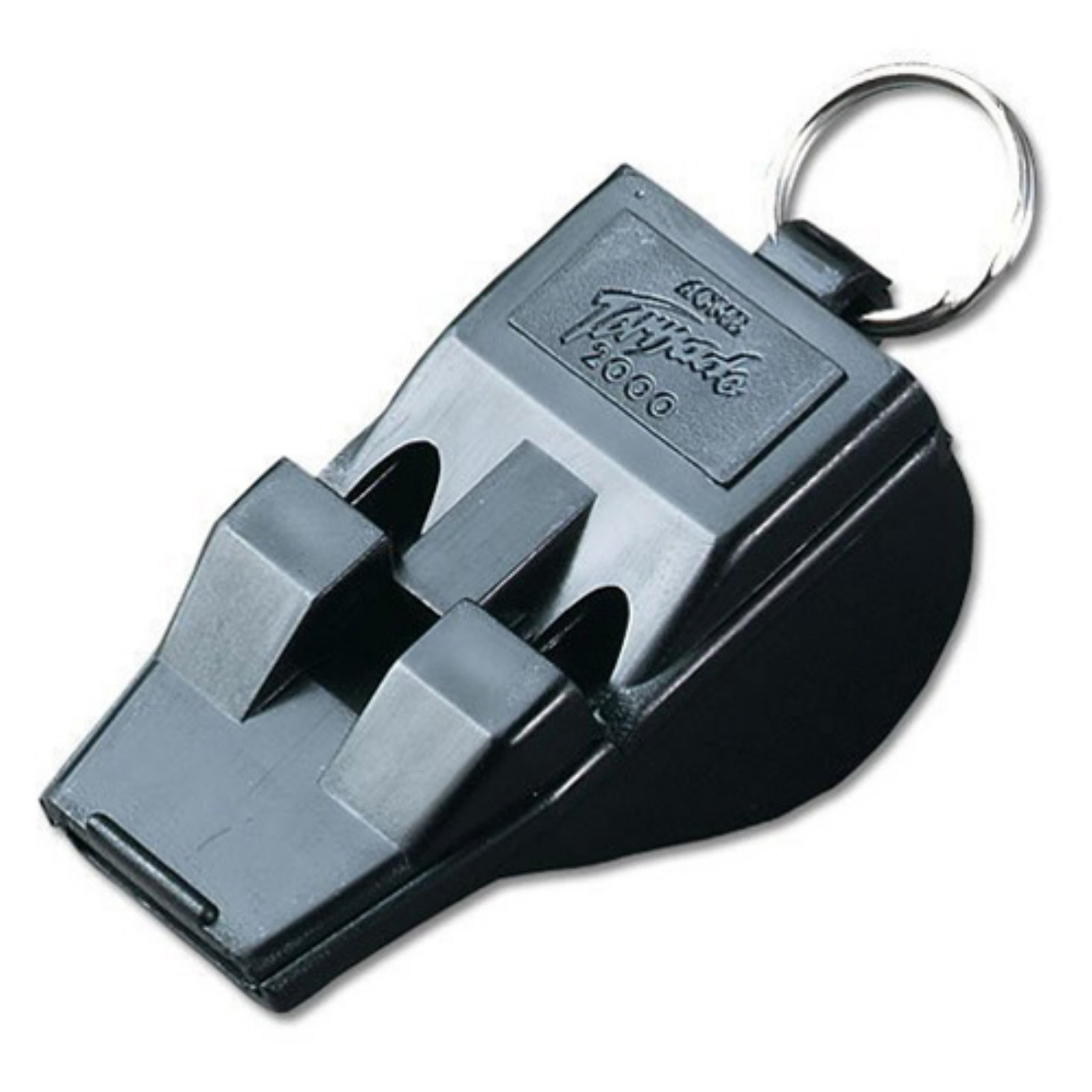 Acme Tornado 2000 Pealess Whistle, Black, 12ct