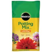 (2 pack) Miracle-Gro Potting Mix 1 cu. ft., For Use With Container Plants