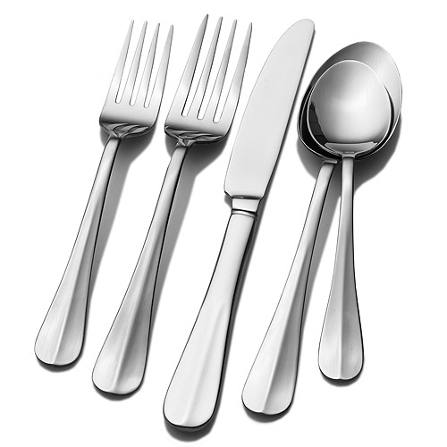 International Silver Simplicity 53-Piece Flatware Set