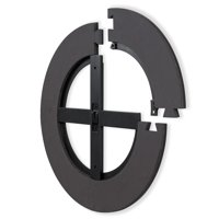 """Narwhal Steel or Soft Tip Dartboard Wall Protector, 24"""" in Diameter"""