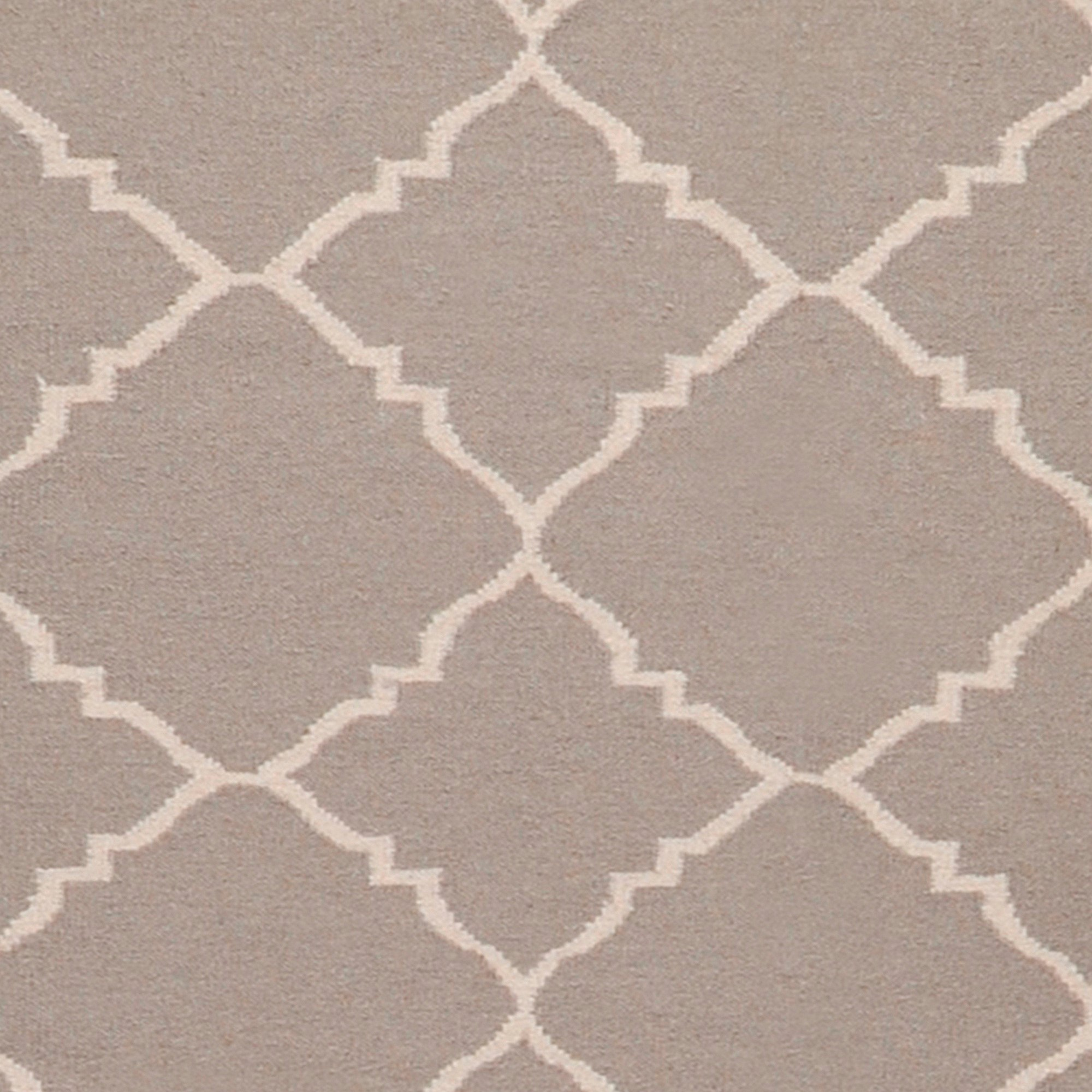 Art Of Knot Prichard 2' X 3' Taupe Hand