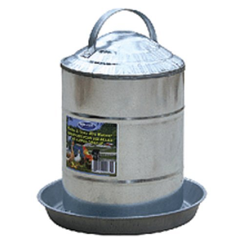 Millside Industries Galvanized Poultry Fountain