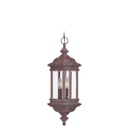 Sea Gull Hill Gate Outdoor Hanging Light - 25H in. Textured -