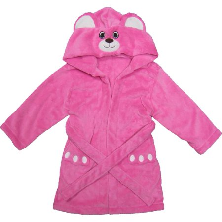 Princess Cat Hooded Animal Bath Robes 4-6T