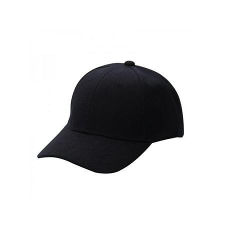 Sweetsmile Men Women Unisex Plain Baseball Cap Hip-Hop Adjustable Peaked Hat Visor