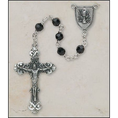 Christian Brands SO526BLP420 Boys First Communion Rosary - Communion Gift For Boy