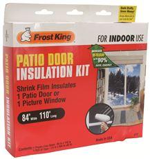 Frost King V76H Patio Door Shrink Film Window Kit 84 In. ...