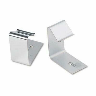 Quartet Metal Cubicle Hangers for 1 1/2 to 2 1/2in Panels, 2/Set