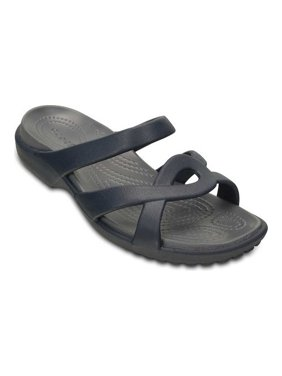fcc1a07b510 Product Image Crocs Meleen Twist Women s Comfort Sandal - 202497 - Black    Smoke