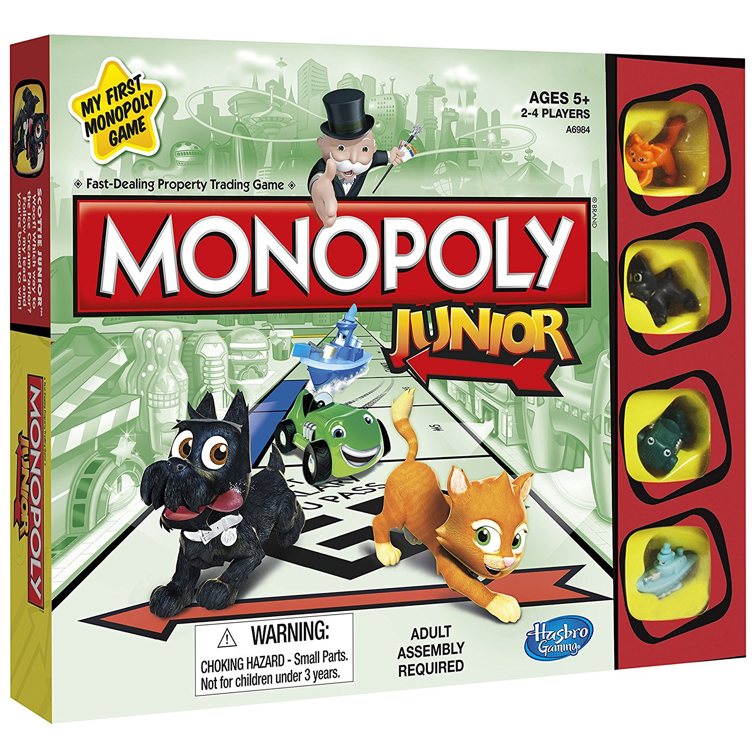 Monopoly Junior Board Game, Enter your model number By Hasbro by