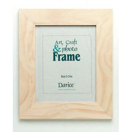 Unfinished Craft Wood Frame - 11.5 x 13.5 - Craft Frames