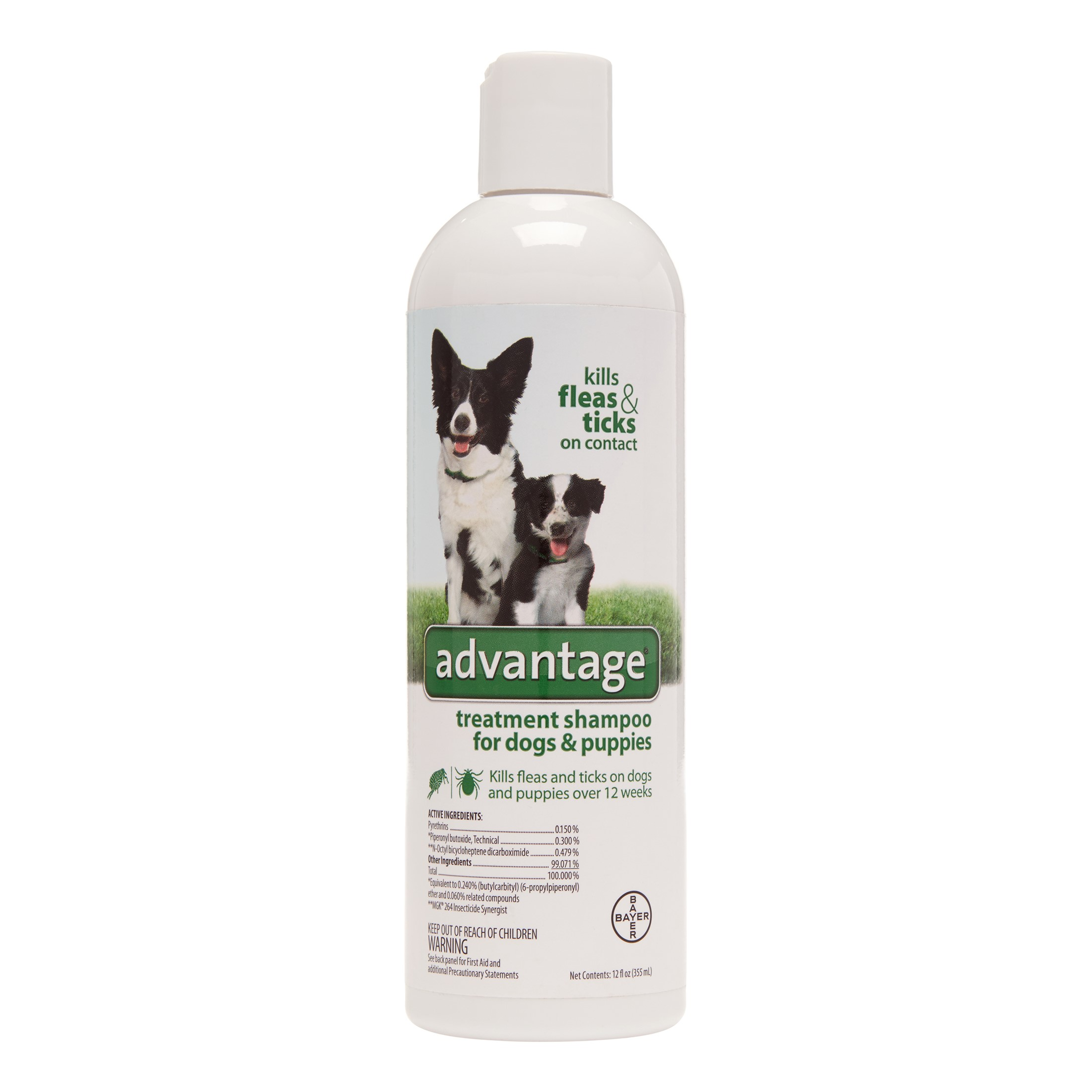 Image of Advantage Flea & Tick Treatment Shampoo, 12 Oz