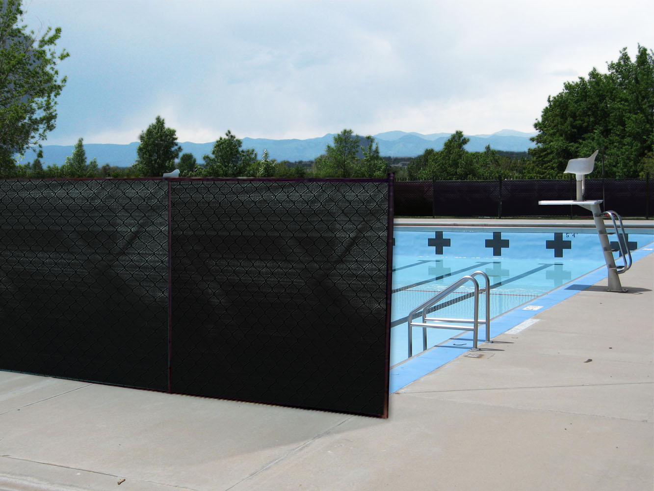 """Boen Privacy Fence Netting Black 68"""" x 150' by Supplier Generic"""