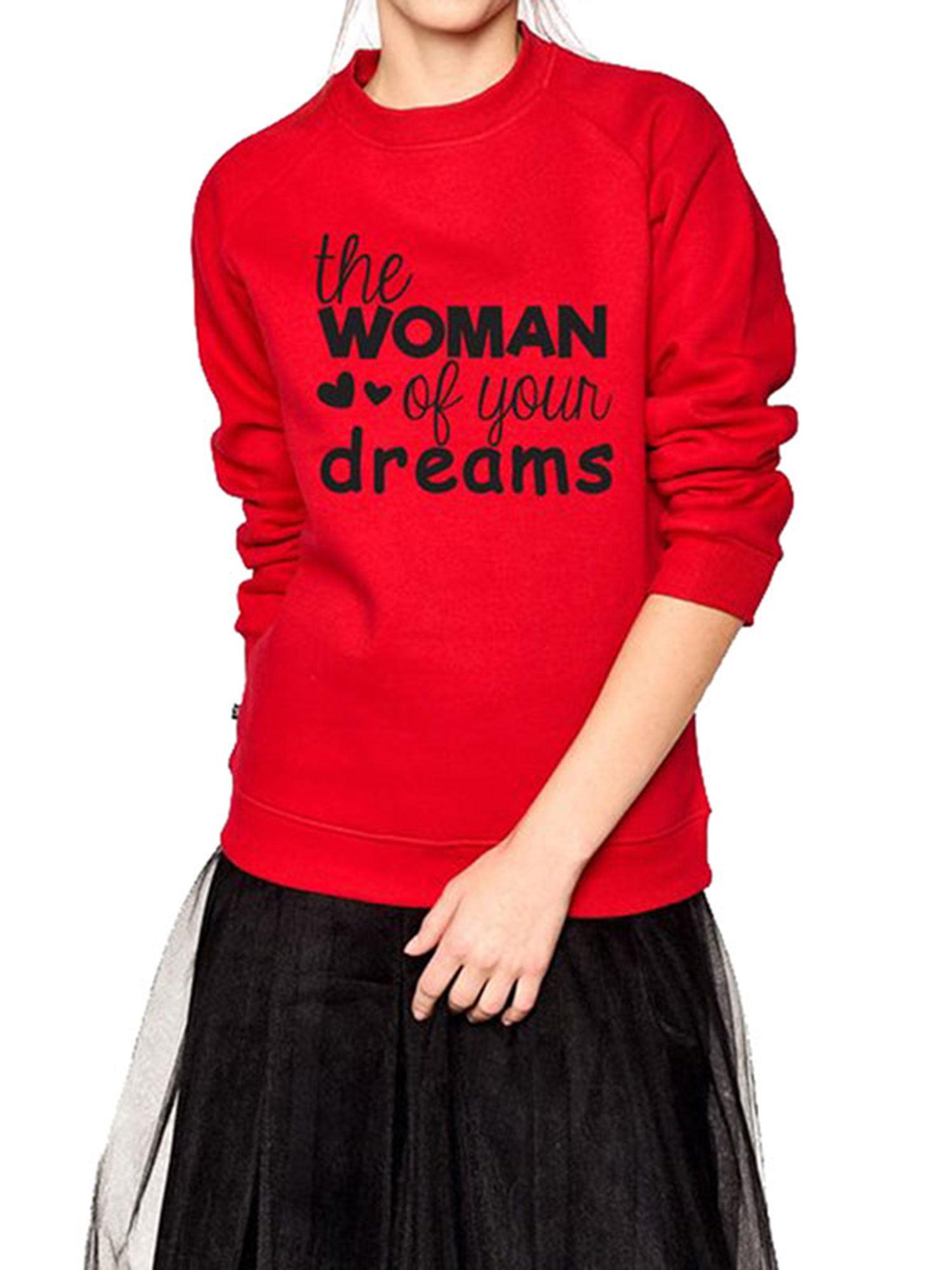 ReliMart Men Women Boy Girl Long Sleeve Round Neck Family Matching Sweatshirt