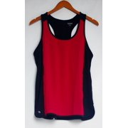 cee bee CHERYL BURKE Women's Top Sz S Scoop Neck Racerback Tank True Red A282647