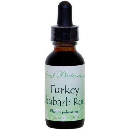 Best Botanicals Turkey Rhubarb Root Extract 1 oz.
