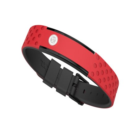 9K Sports Golfers Magnetic Bracelet, Swim, Shower, Surf, Wear it Everyday (Red - Surf Bracelets