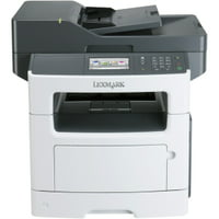 "Lexmark MX511DE Laser Multifunction Printer - Monochrome - Plain Paper Print - Desktop - Copier/Fax/Printer/Scanner - 45 ppm Mono Print - 1200 x 1200 dpi Print - 45 cpm Mono Copy - 4.3"" Touch"