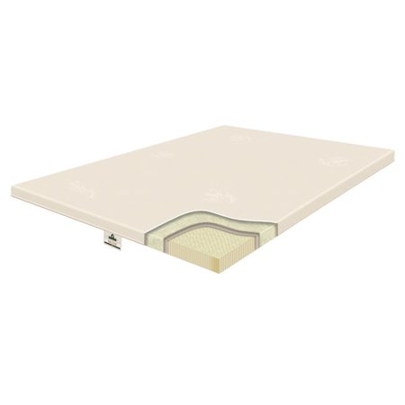 Innomax 2-64-2T-9 2.5 in. Origins Natural Latex Pillow Topper, Twin Size