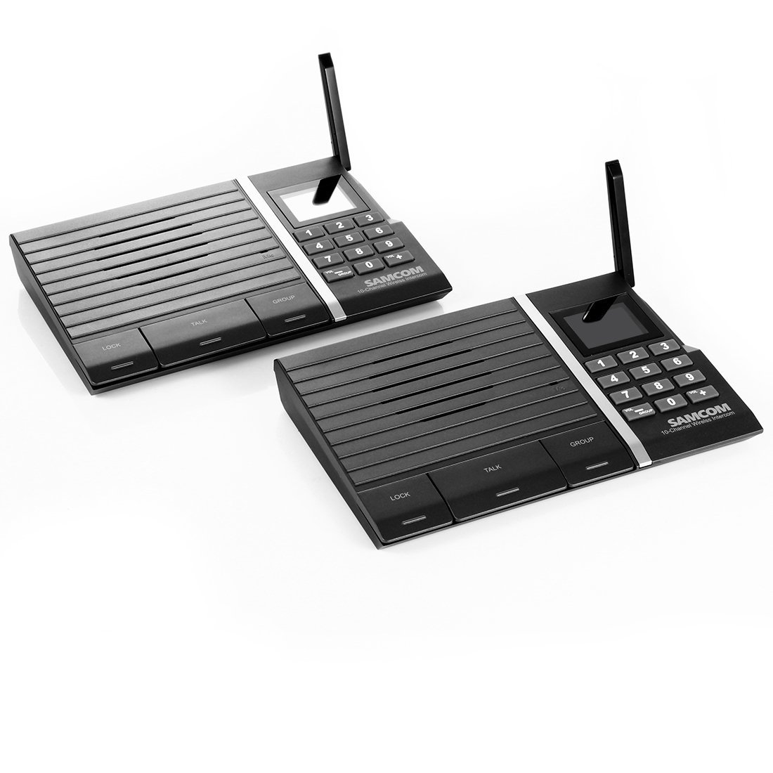 Samcom 10_Channel Digital FM Wireless Intercom System for...