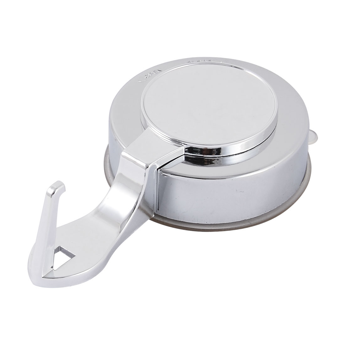 Unique Bargains Kitchen Household Plastic Lock Strong Suction Cup Single Hook Holder Hanger - image 1 of 3