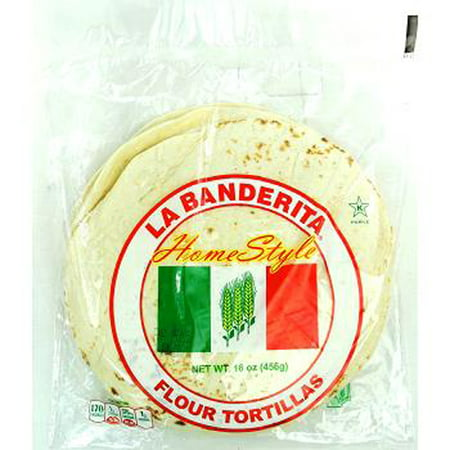 Product Of La Banderita, Home Style Flour Tortillas , Count 1 - Mexican Food / Grab Varieties & Flavors
