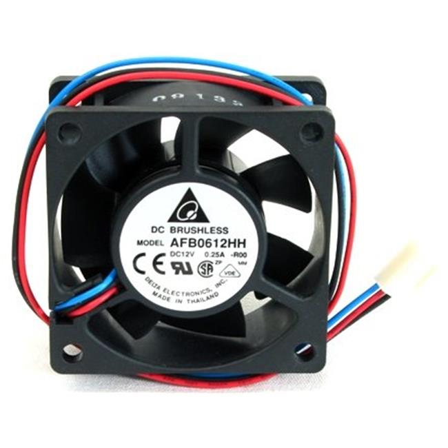 Delta 23-6025-02 60 x 60 x 25 mm. Ball Bearing Cooling Fan