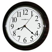 "Howard Miller Rosewood Wall Clock, 11 3/4"", Faux Cherry Wood"