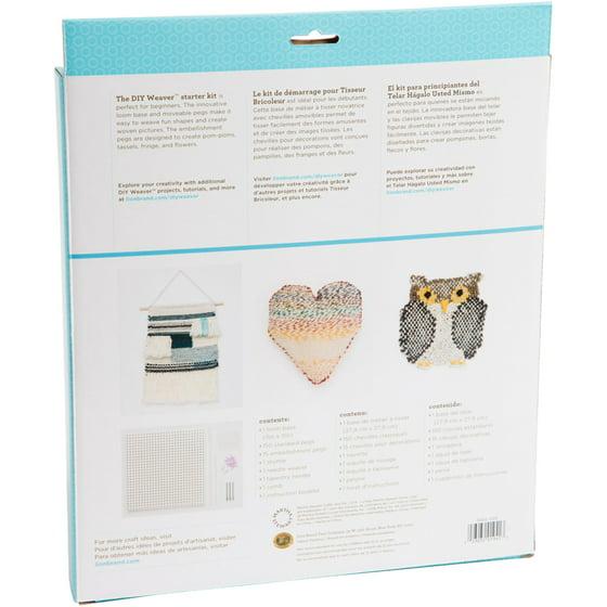 Martha Stewart Crafts Diy Weaver Starter Kit Walmart Com