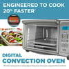 BLACK+DECKER 6-Slice Digital Convection Toaster Oven, Stainless Steel, TO3280SSD