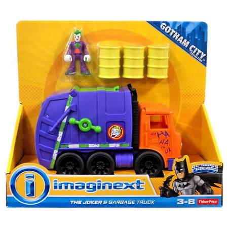 Dc Super Friends Imaginext The Joker Amp Garbage Truck