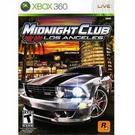 Cokem International Midnight Club: Los Angeles (Xbox 360) - Pre-Owned Rockstar - Truck Racing Games