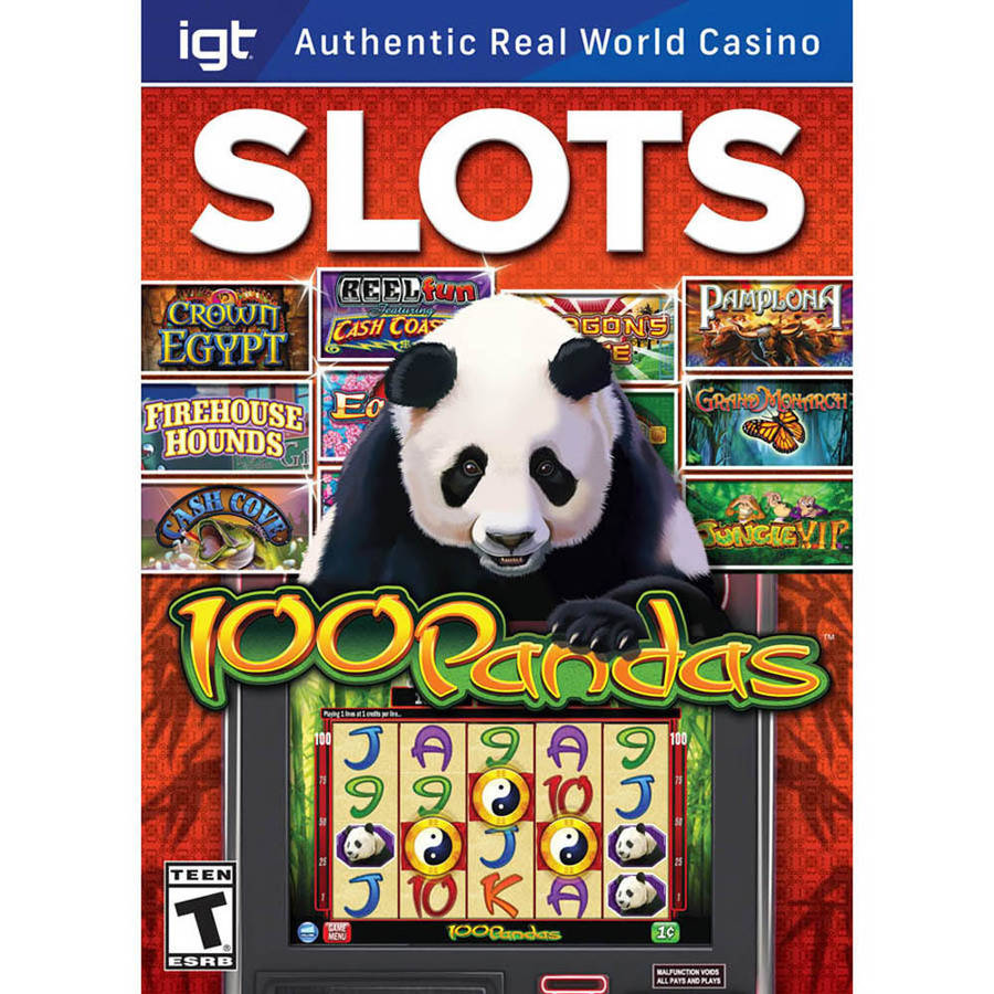 Encore Software 28922 IGT Slots 100 Pandas for Mac (Digital Code)